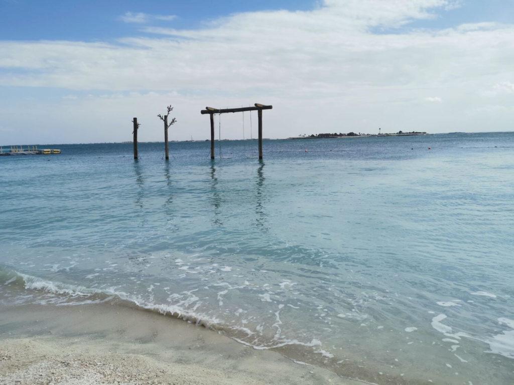 Stränder på Zaya Nurai Island