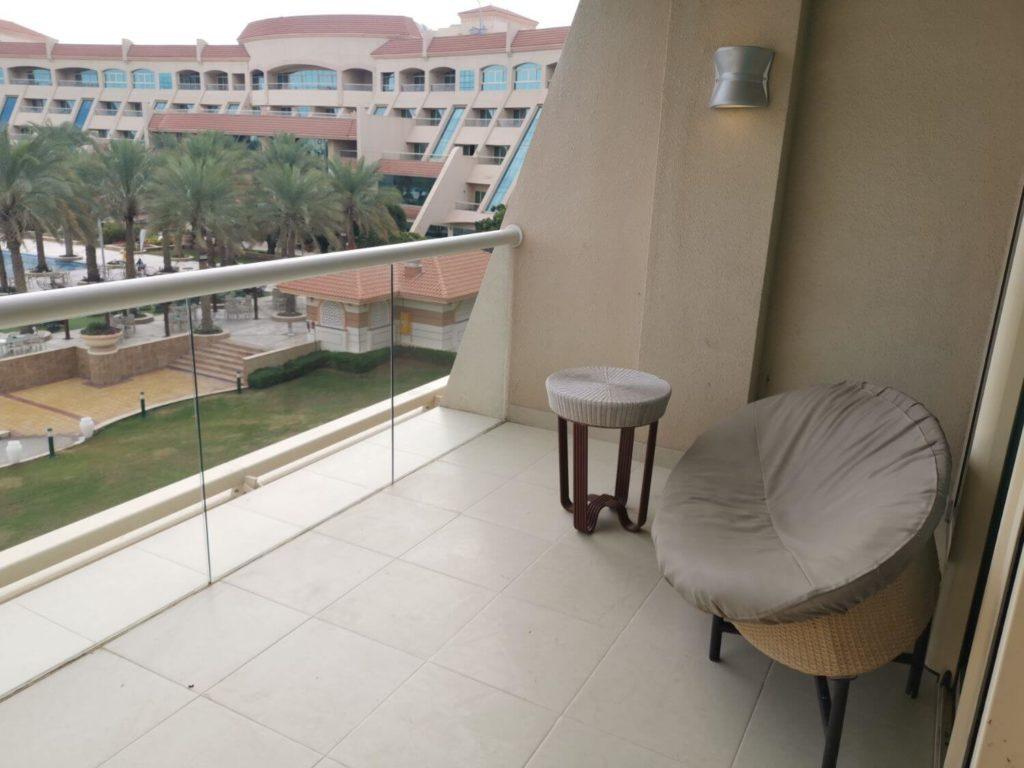 Al Raha Beach Hotel Balkong
