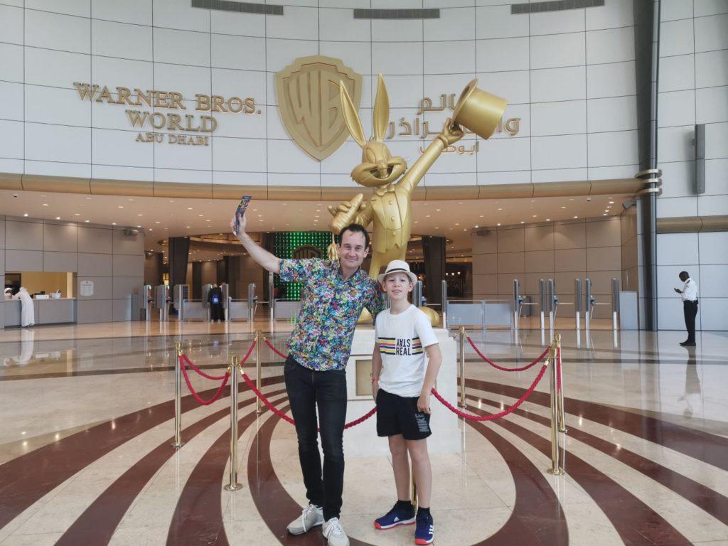 Warner Bros world i Abu Dhabi