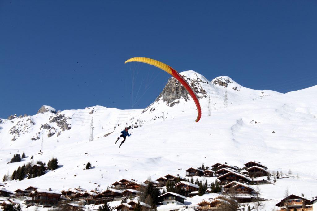Saker att göra i Verbier Paragliding