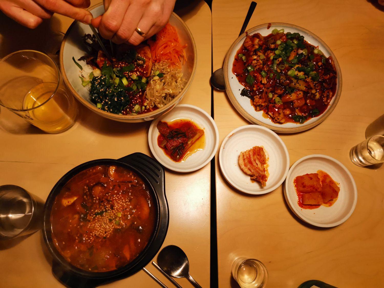 koreansk mat lund