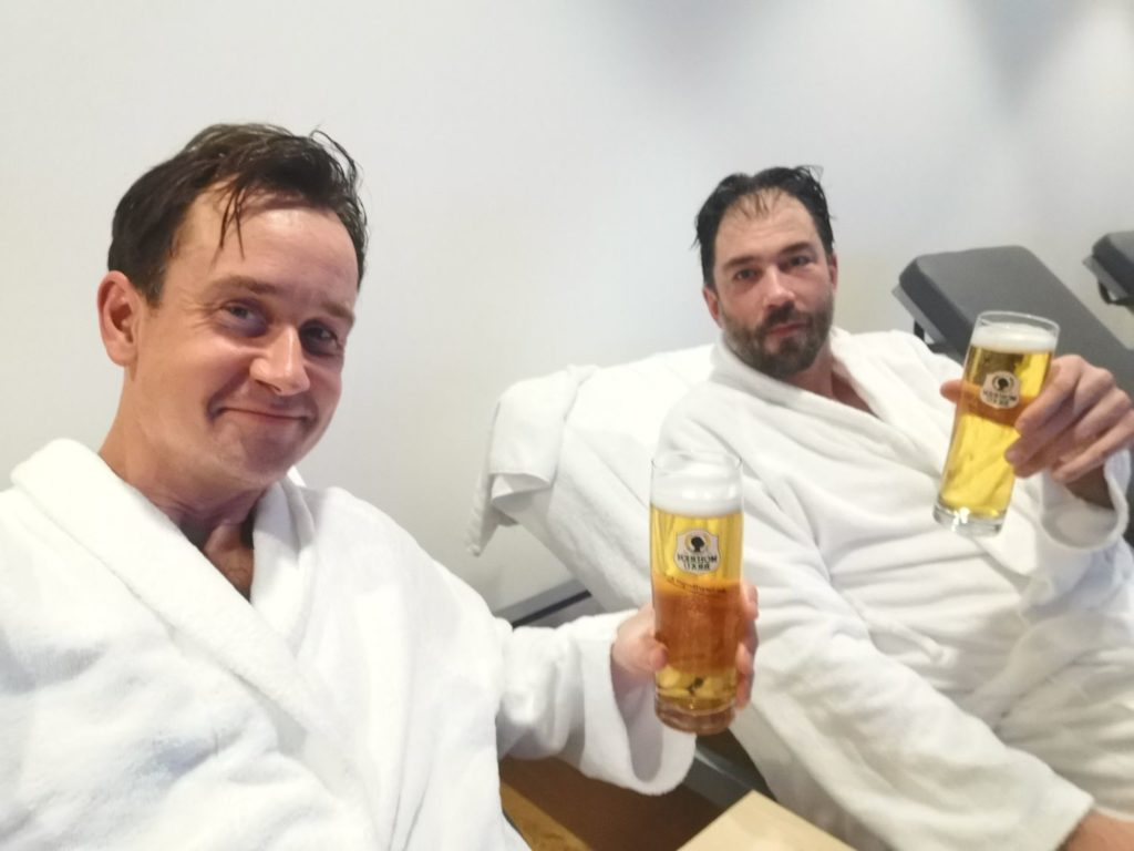 Bastu och relax på Hotel Tannahof