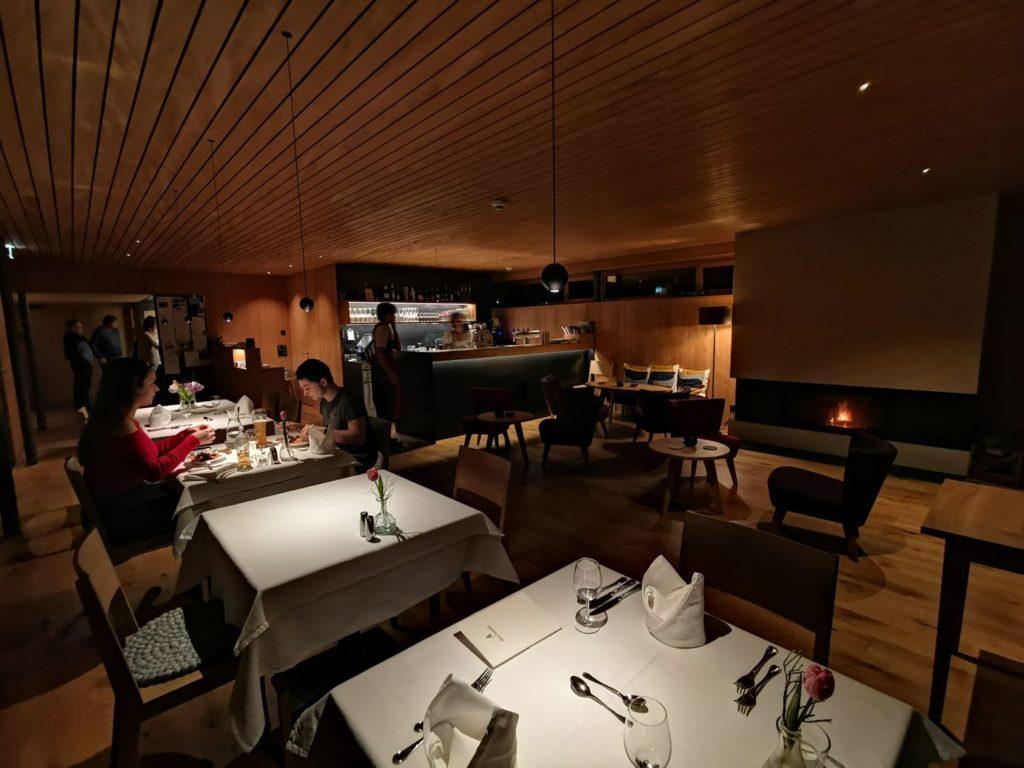 Restaurangen på Hotel Tannahof