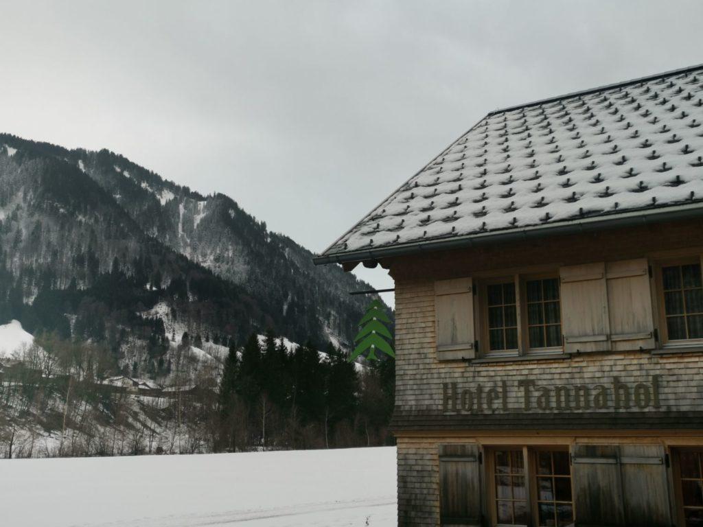 Hotel Tannahof i Au