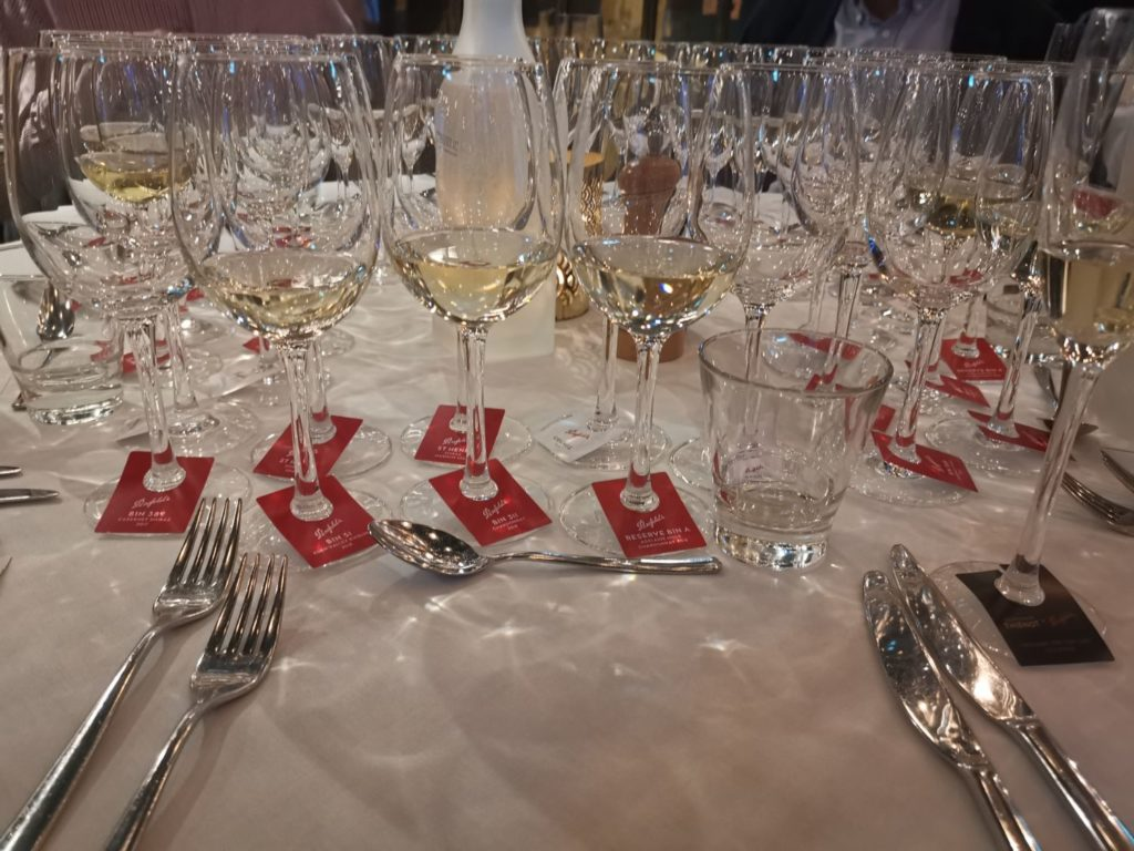 Wine Makers dinner med Penfolds