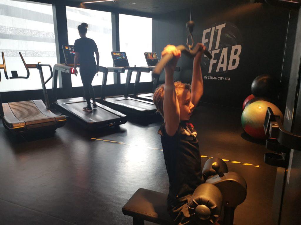 Gym på Clarion Sign