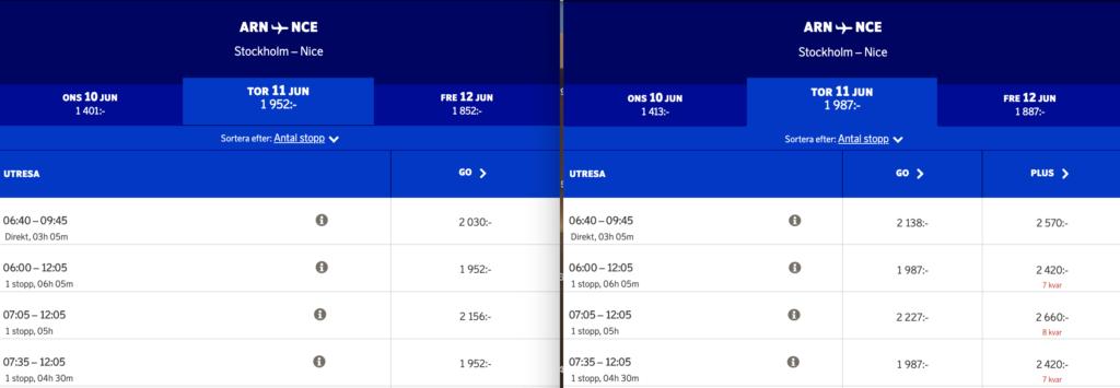 Rabatterade SAS-biljetter för SAS aktieägare