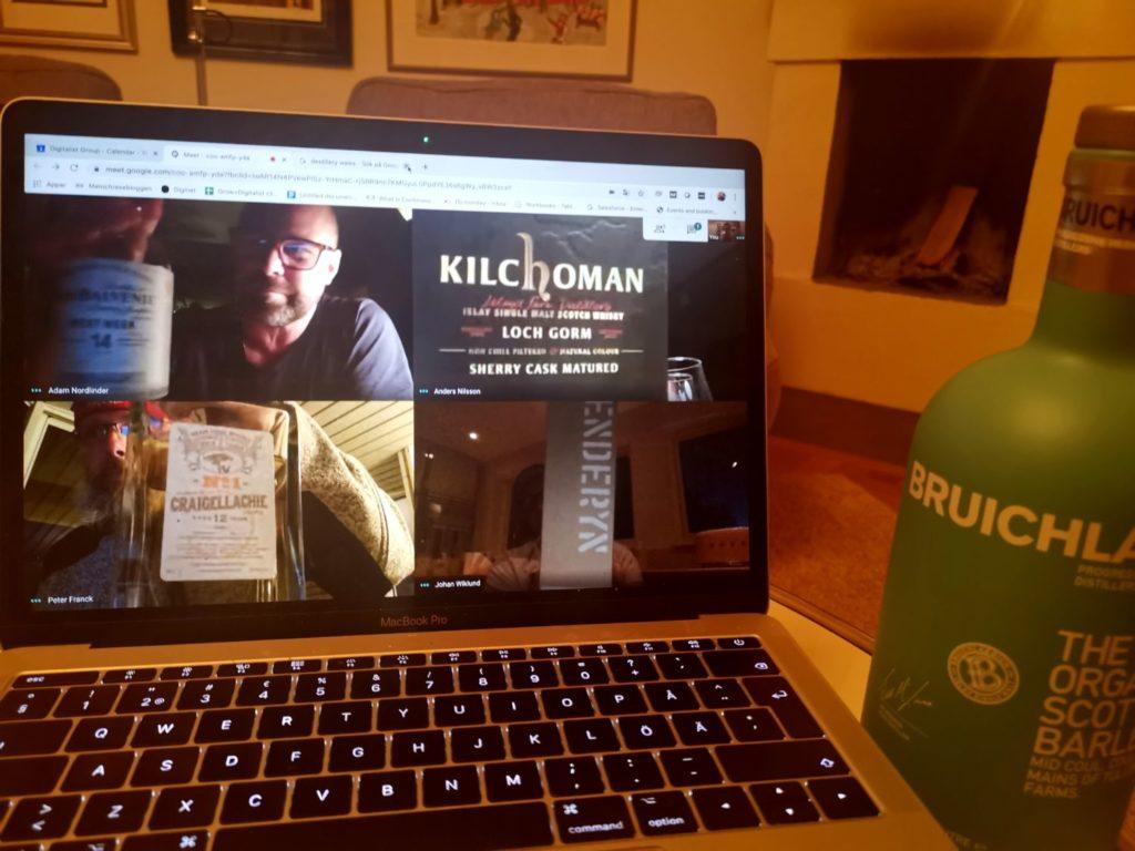 Whiskyprovning på distans