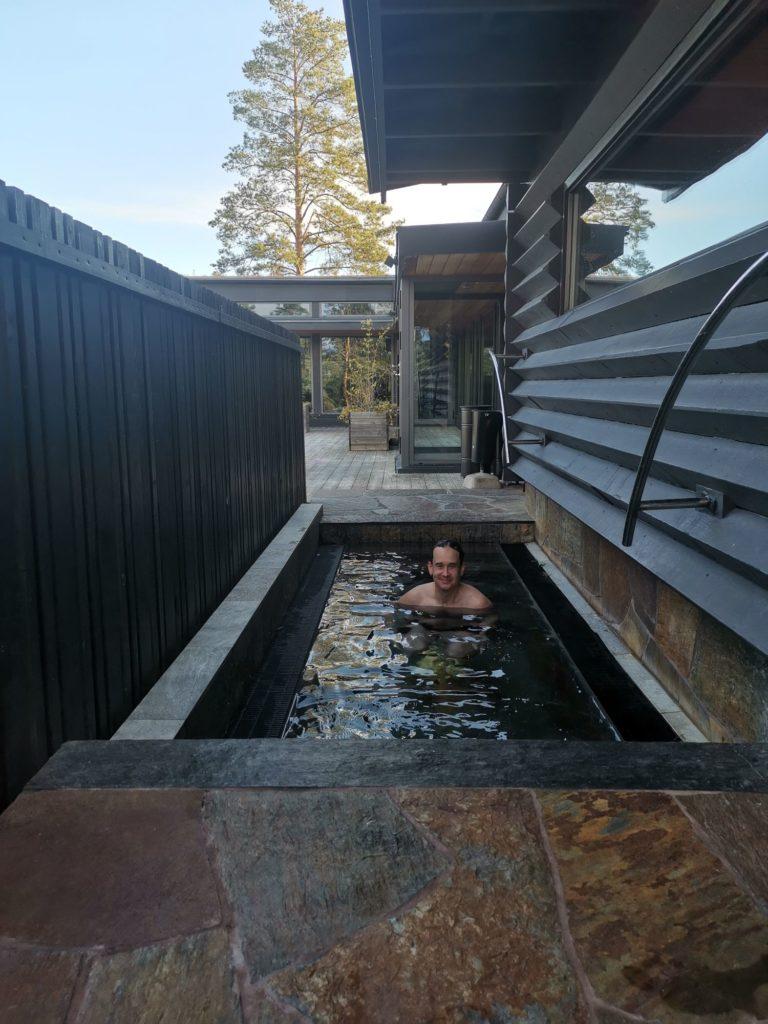 Japanska badet på Yasuragi