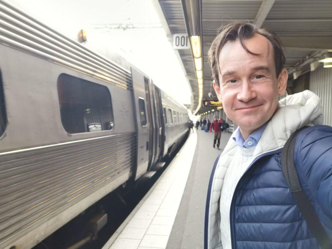 Weekendresa med tåg
