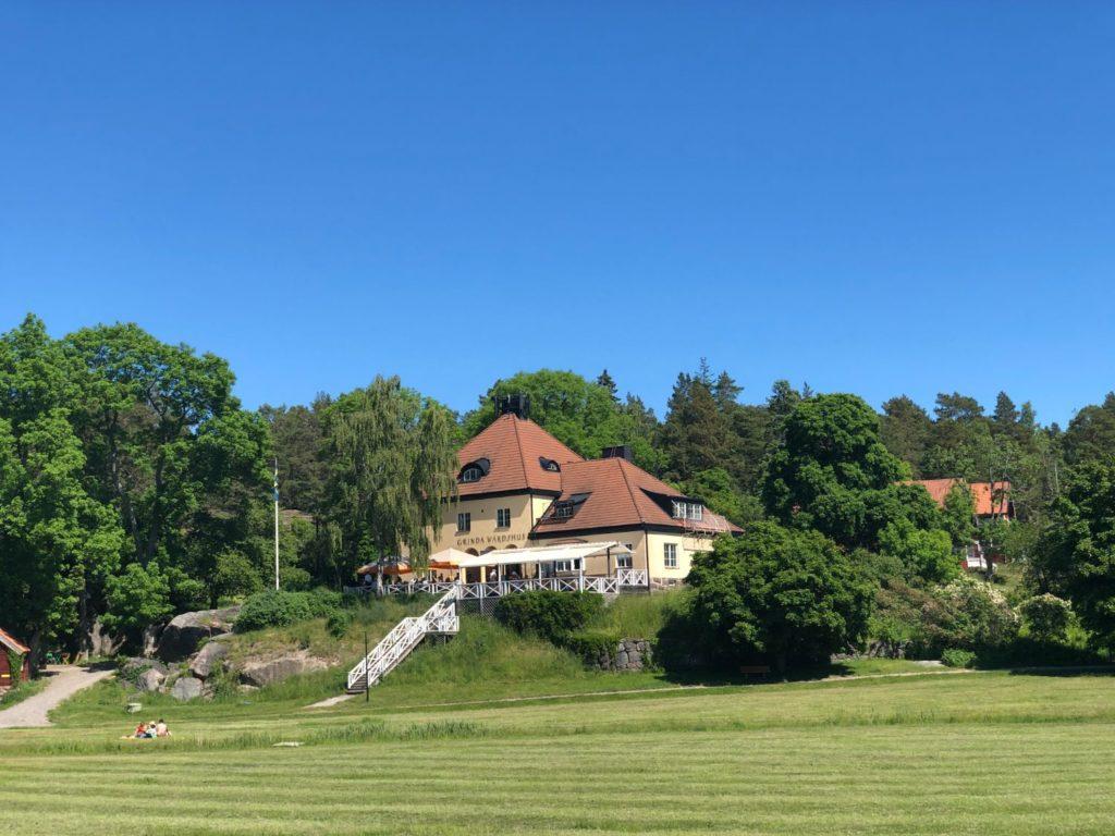 Familjeutflykt till Grinda - en av de populäraste öarna i Stockholms Skärgård