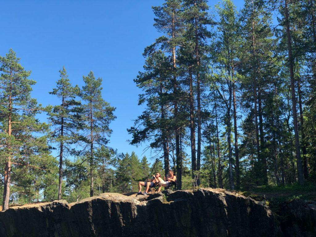 Öster Silvbergs gruva i Dalarna