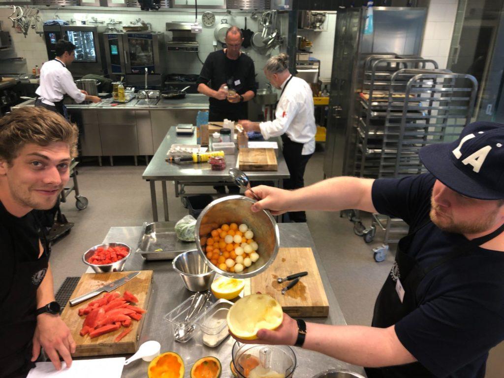 restaurangmatlagning för hemmakocken