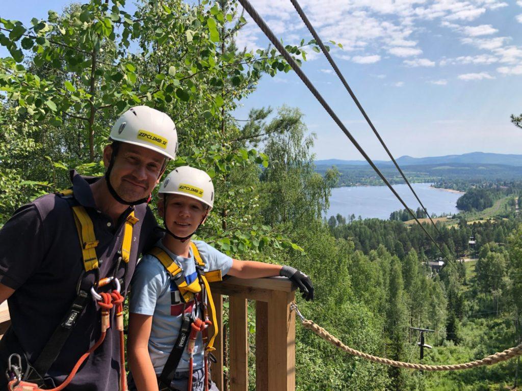 Orbaden Zip and Climb Superzip
