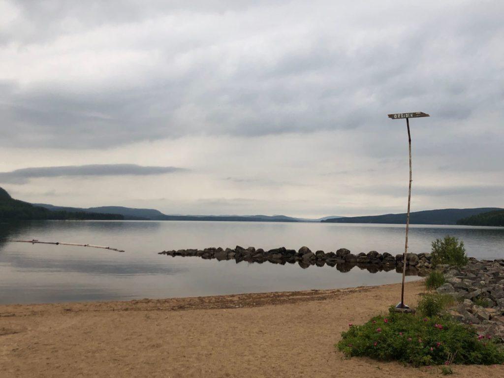 Kvällspromenad på stranden