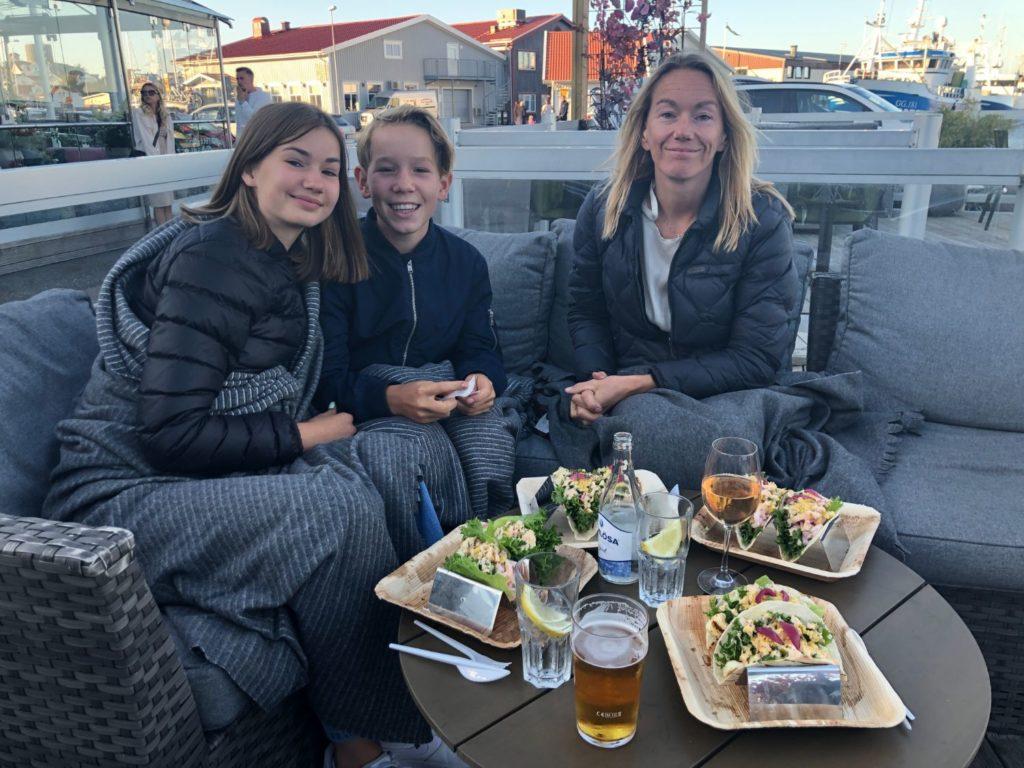 Restauranger på Hönö   Sommarvagnen - Västkusttacos