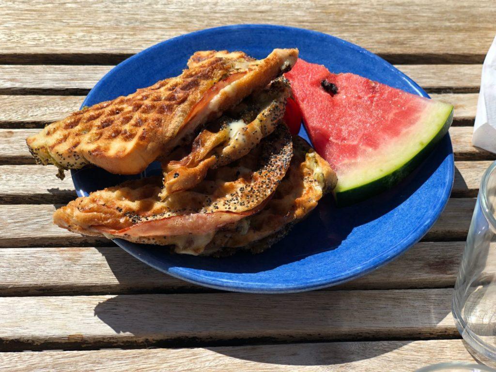Lunch på Hälsö Brygga