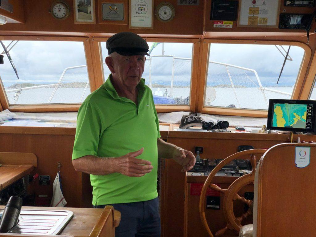 Båtutflykt till Vinga