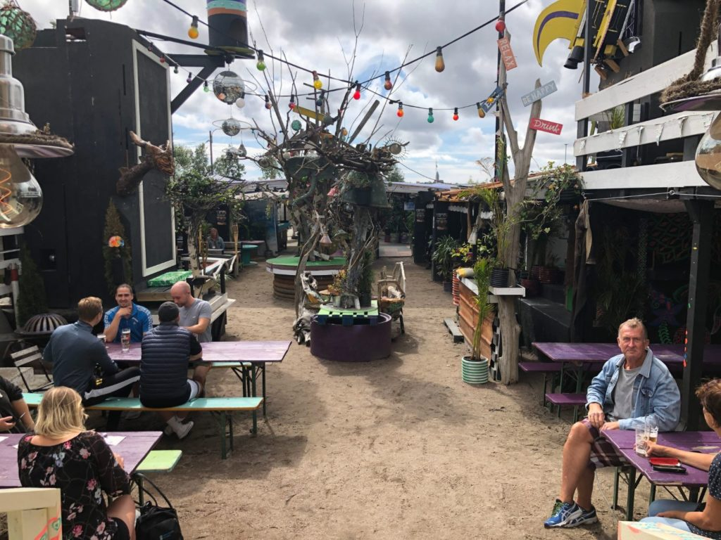 Café Fluss i Jubileumsparken