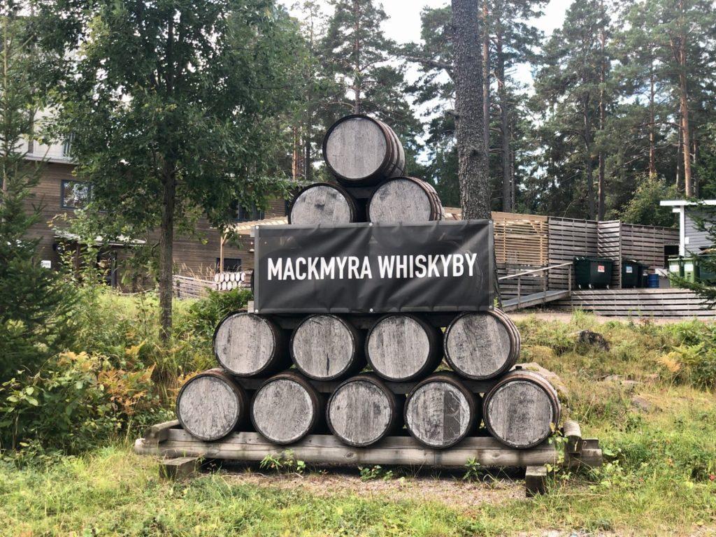 Besök på Mackmyra Whiskyby