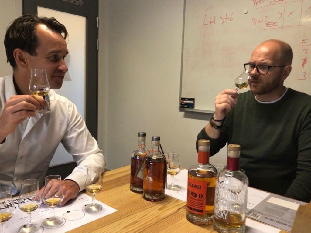 "besök på Mackmyra Whiskyby Whiskyprovning  - ""småfatens magi"""