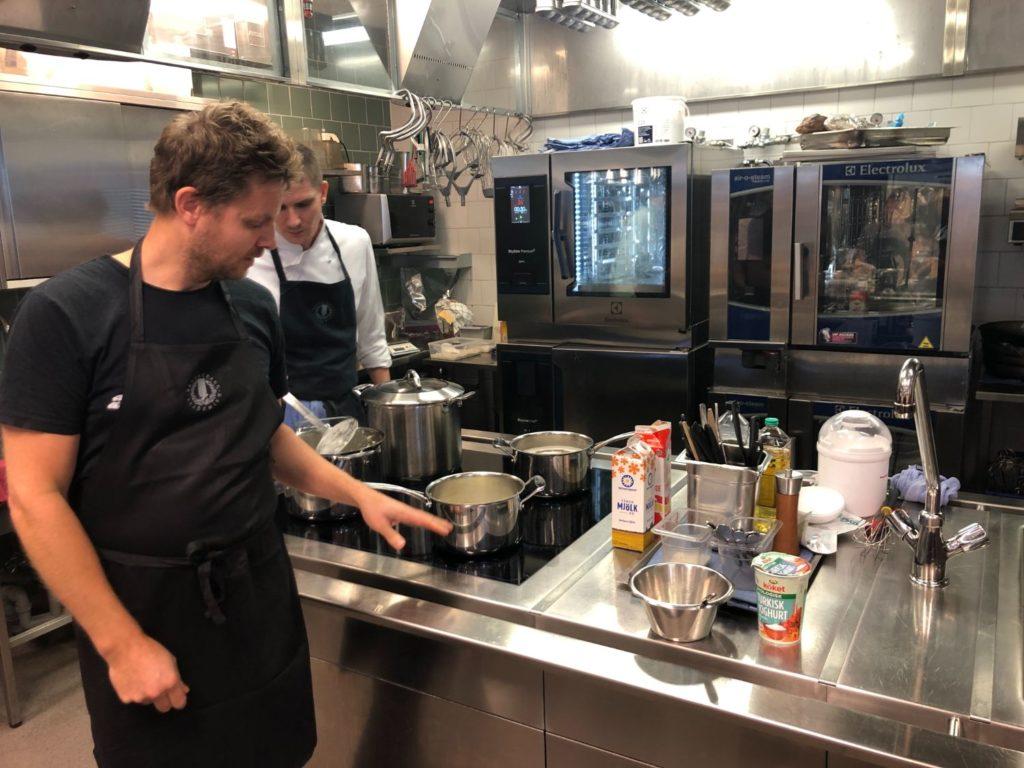 Kurs i fermentering och konservering på Restaurangakademien