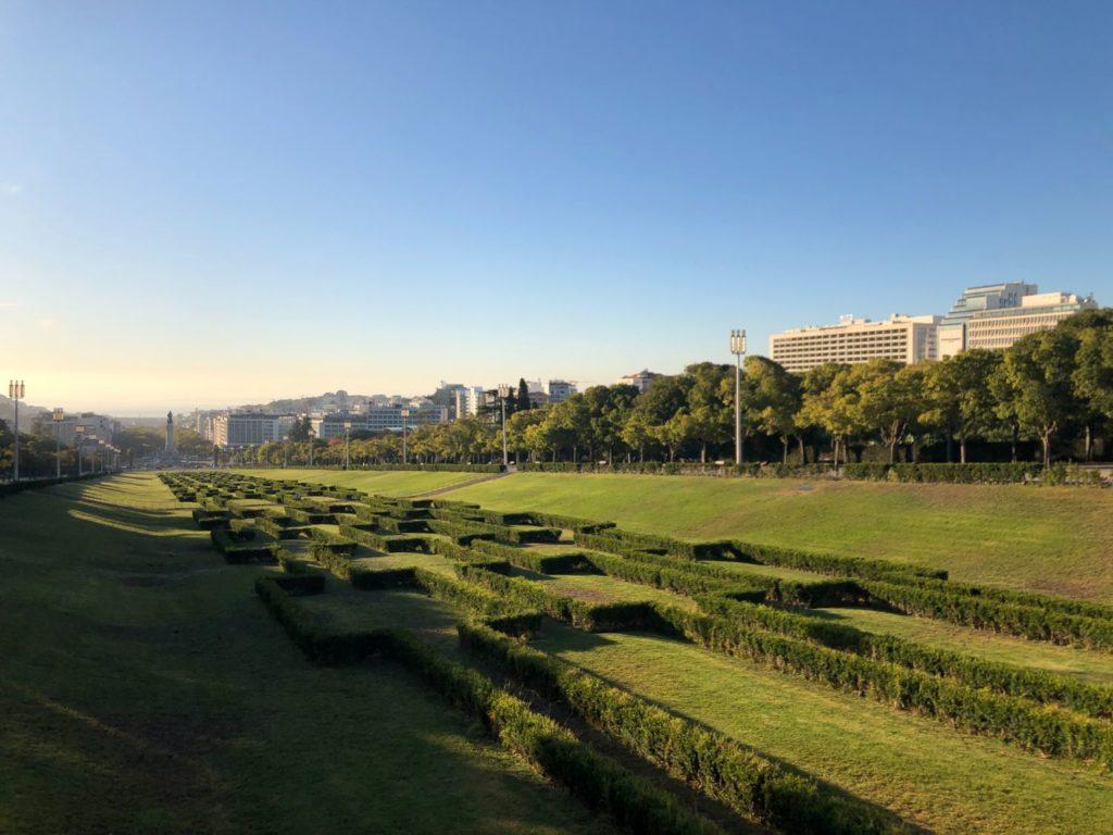 Den coolaste parken i Lissabon - Parque Eduardo VII
