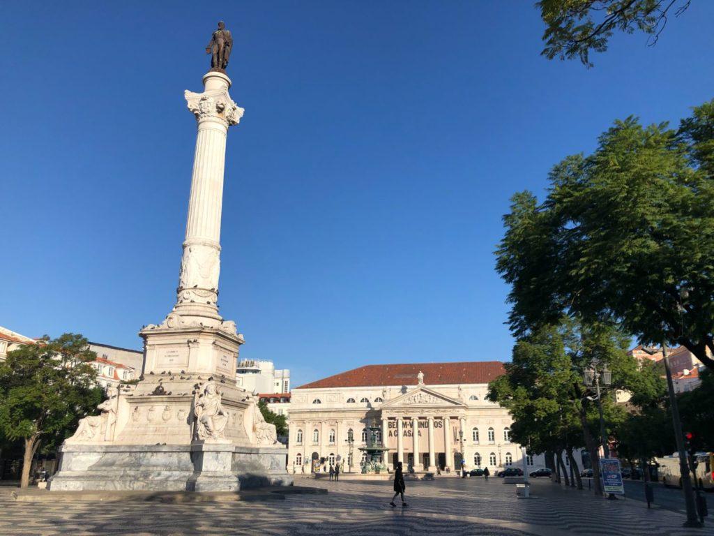 Sightseeing i Lissabon - mina tips! Torg