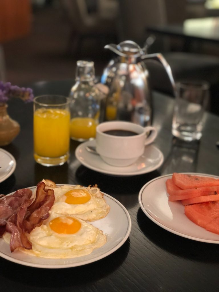Frukost på Sheraton Lisboa Hotel & Spa