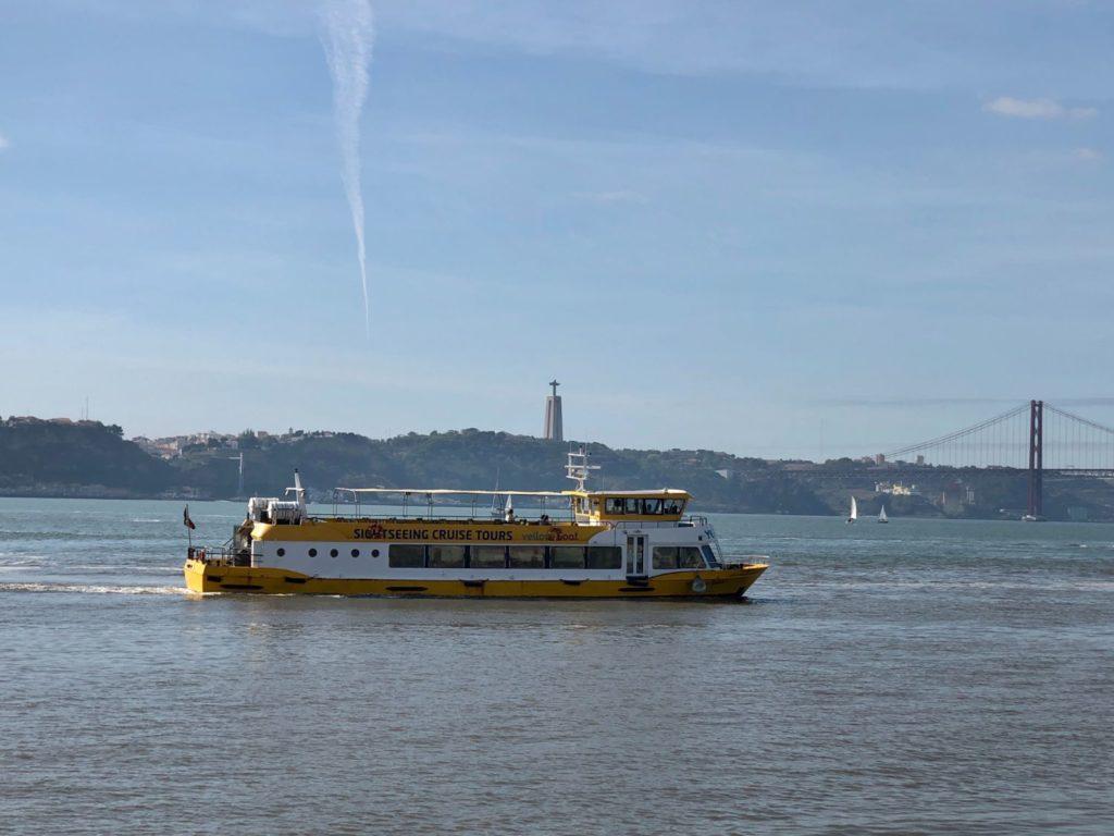 Sightseeing i Lissabon - Floden Tagus