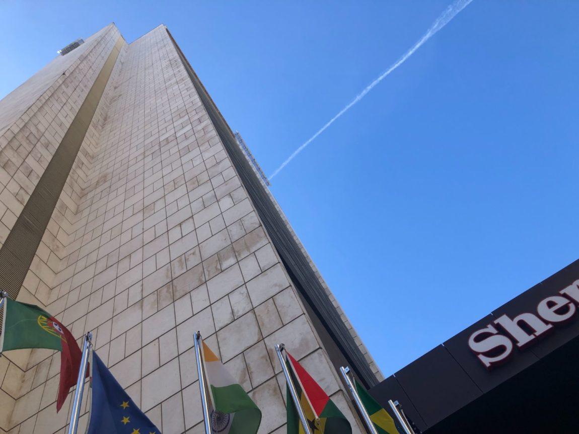 Hotell med utomhuspool i Lissabon & Lissabons högsta hotell - Sheraton Lisboa Hotel & Spa