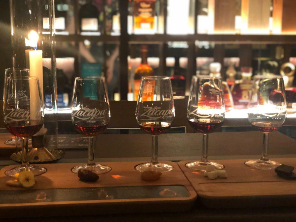 Romprovning på Cane Rum Society - jag testar 5 sorters Rom Zacapa