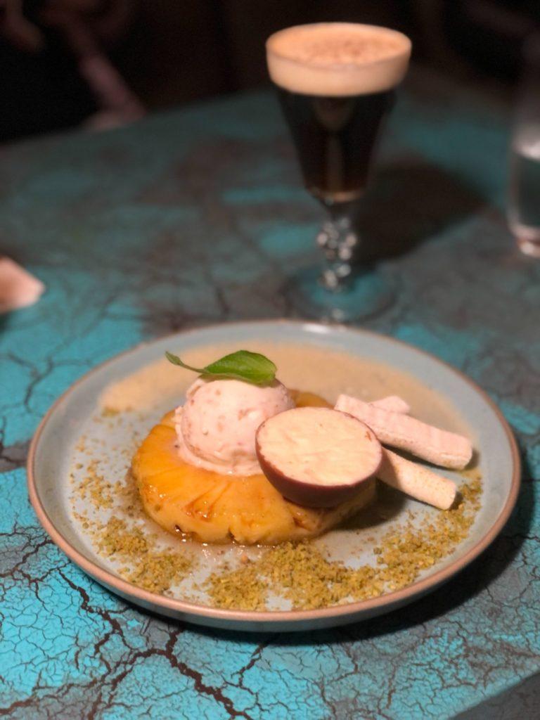Cane Rum Society desserts