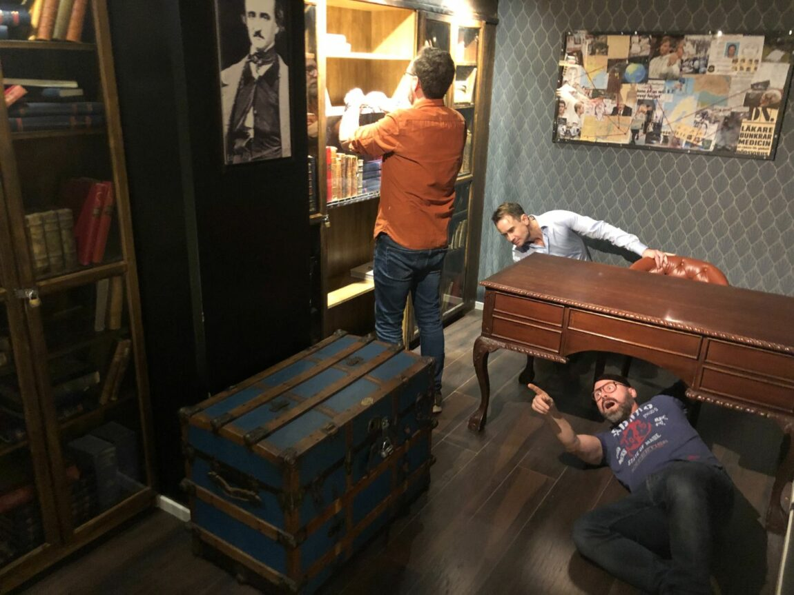 Rolig aktivitet med kompisgänget - Escape Room på Escape Stories