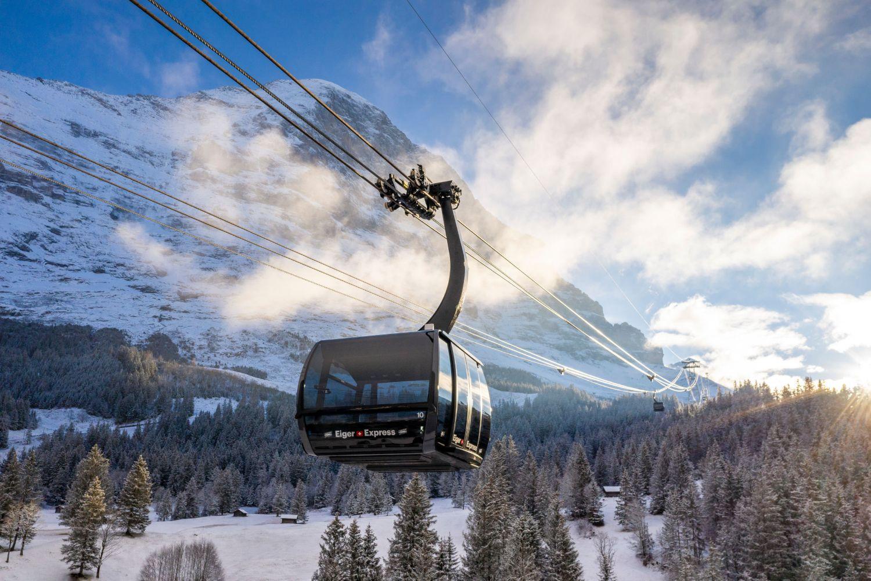 Mina första skiddagar säsongen 20/21 i Grindelwald