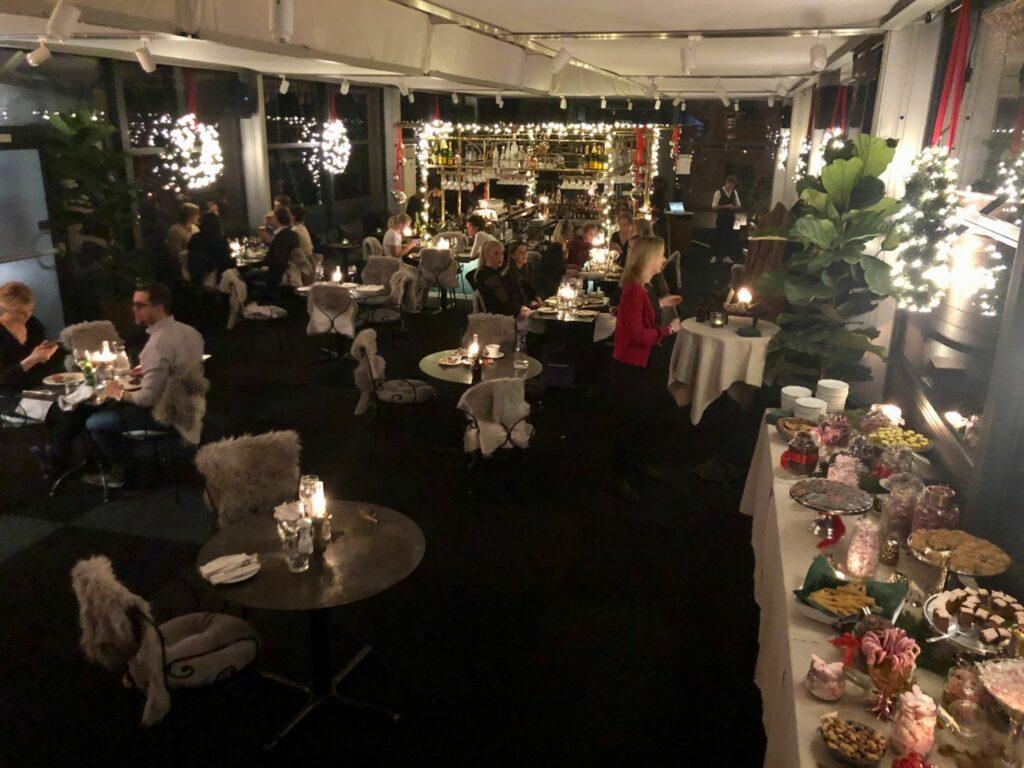 Klassiskt Julbord i sju turer på Hallwylska