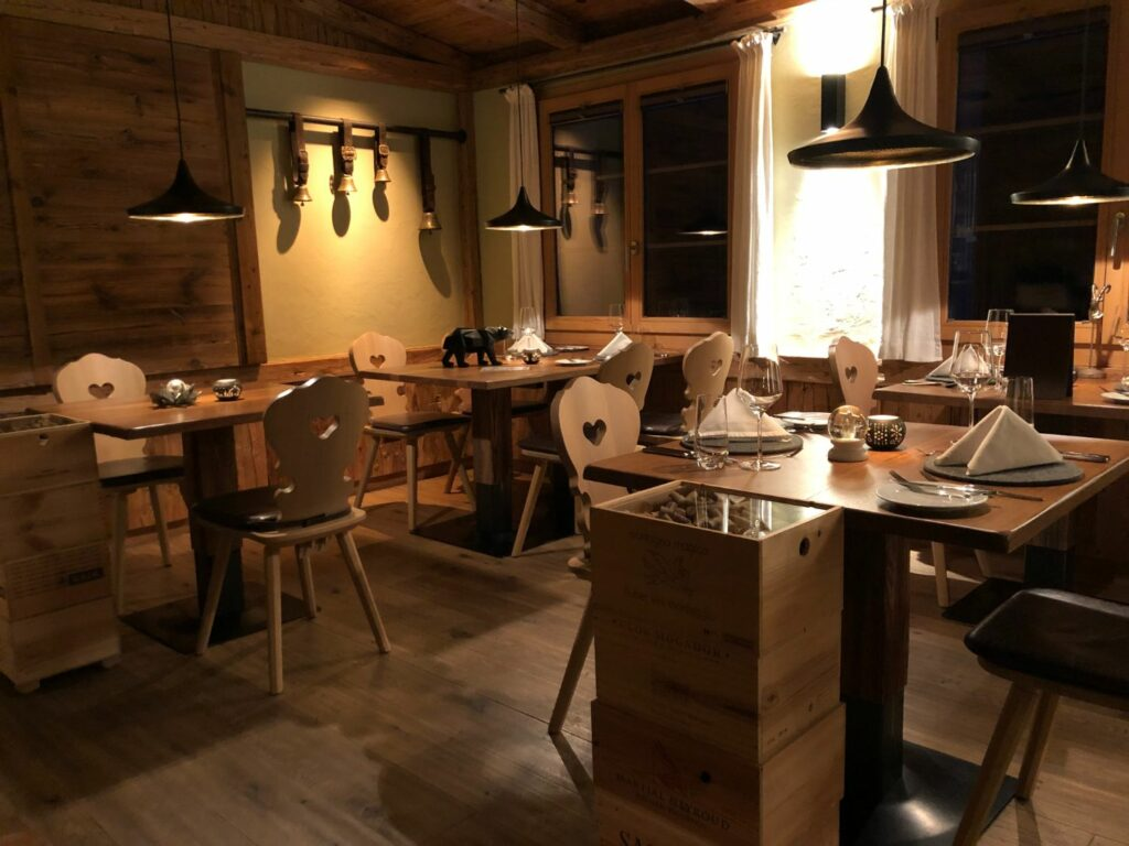 Restaurang Aspen i Grindenwald
