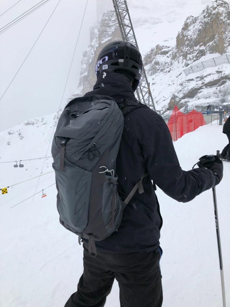 Mina första skiddagar säsongen 20/21 i Grindelwald med en Osprey Soelden 22