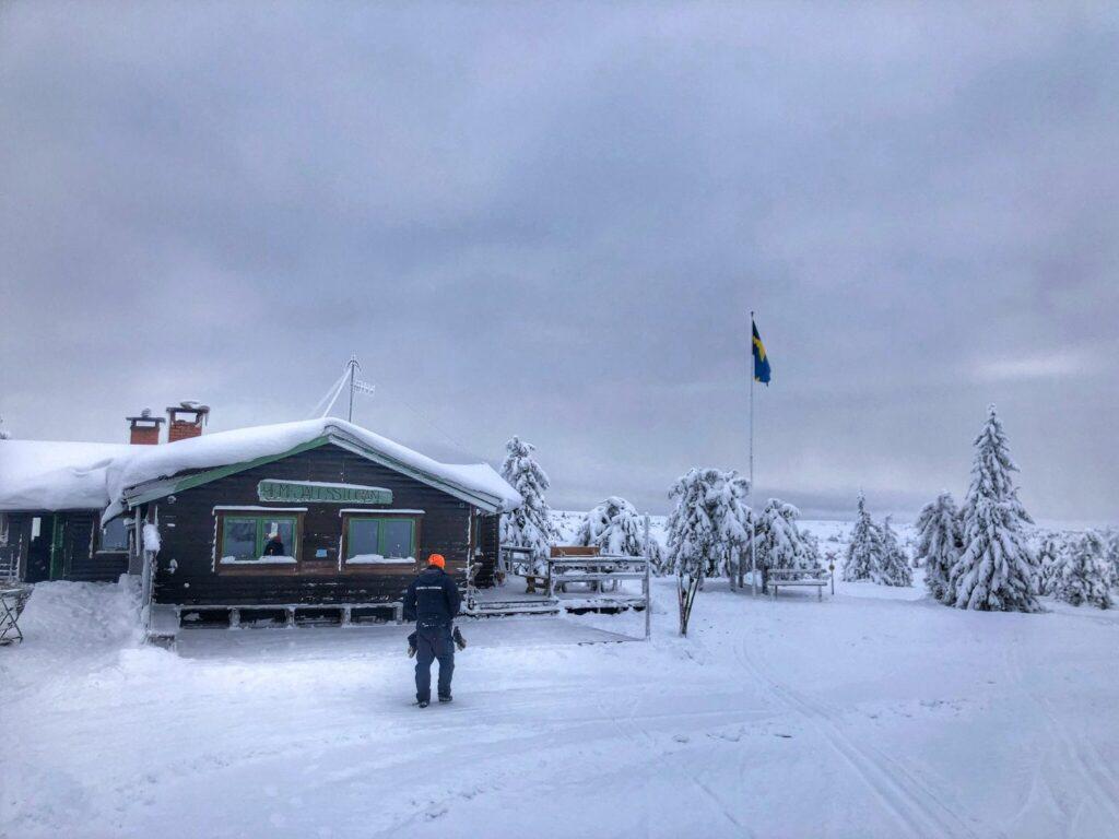 Snöskoter i Sälen med Fjälläventyr