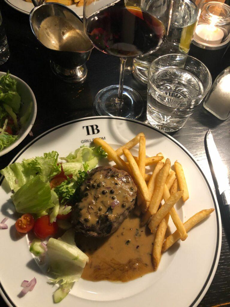 Restauranger på Högfjällshotellet TB Grill Room
