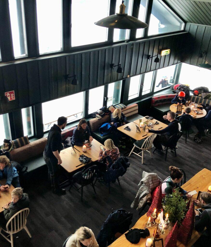 Restauranger på Högfjällshotellet. Jack's BBQ Shack