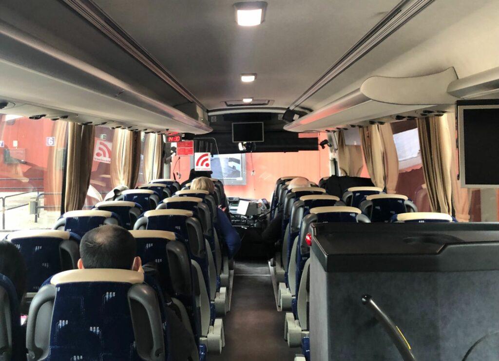 Buss från Mora till Sälen
