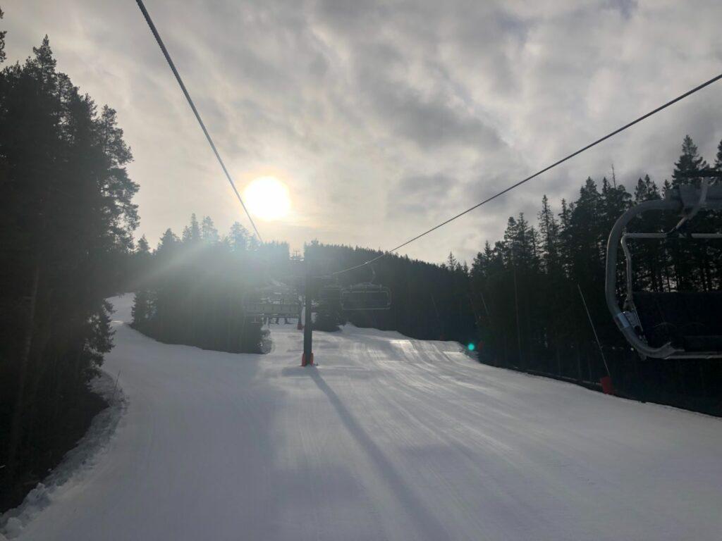 Vårvinter i Romme Alpin - bättre än väntat!