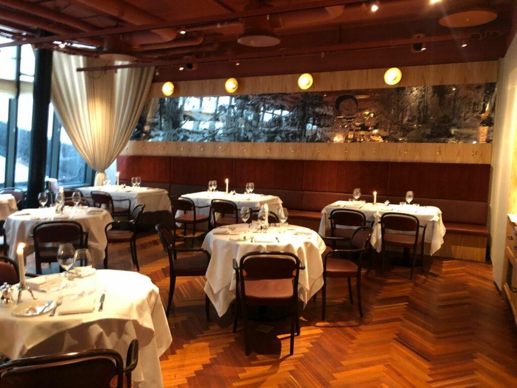 Lunch på Brasserie Astoria