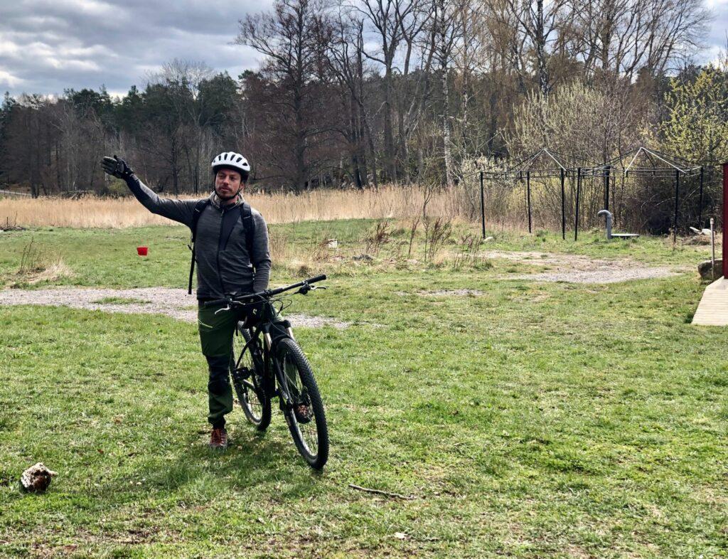 Aktiviteter på Grinda - mountainbike med guide