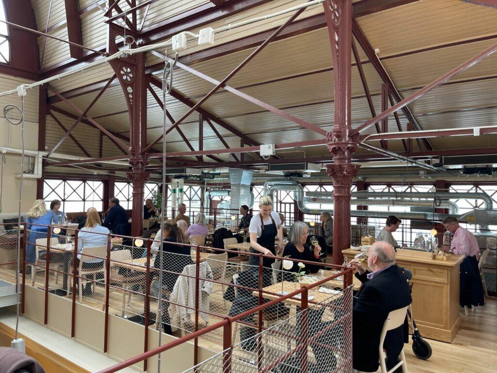 Nya restauranger i Göteborg 2021 - 7 tips Kajutan Saluhallen