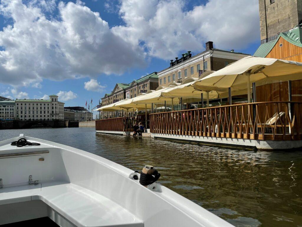 Let's Boat - båtutflykt i Göteborg på egen hand med elbåt.