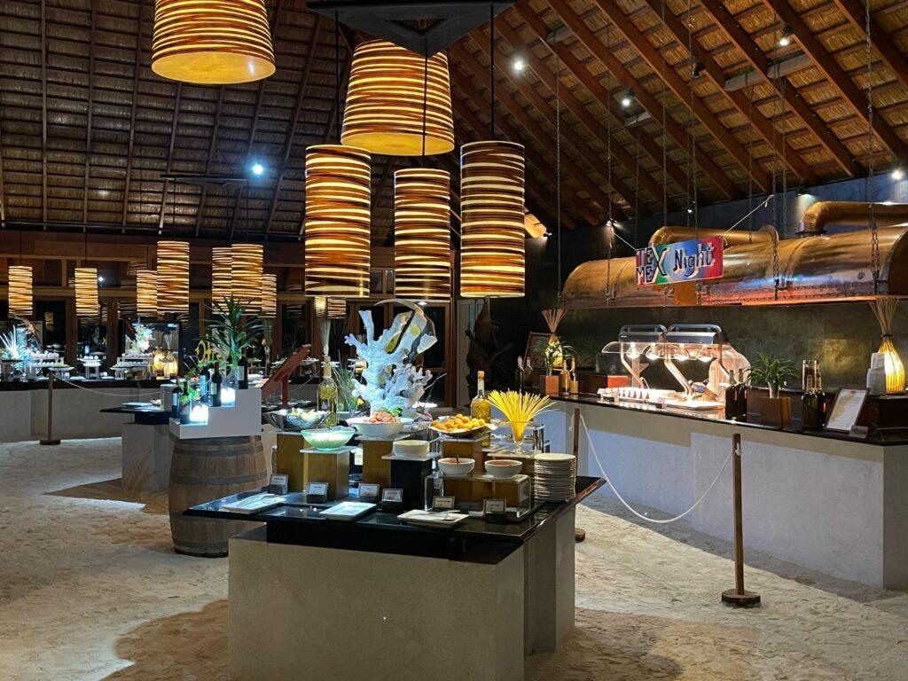 Restauranger på Vilhamendoo