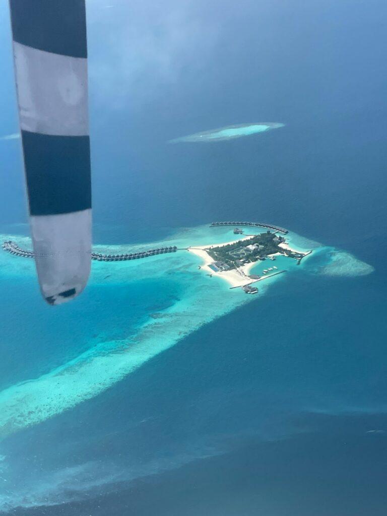 Sjöflygplan på Maldiverna