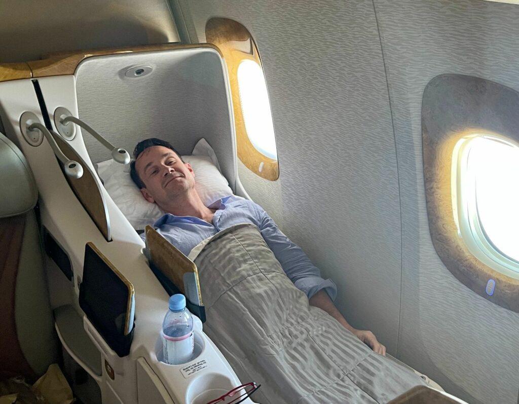 Flyg till Maldiverna med Emirates i Business Class